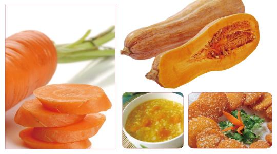 橙色蛋黄背景素材
